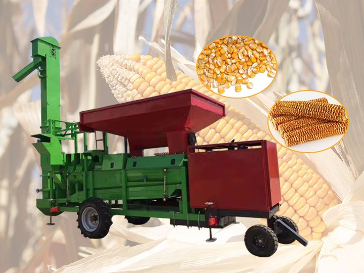 corn threshing