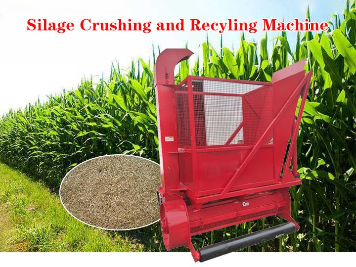 corn stalk cutting and recycling