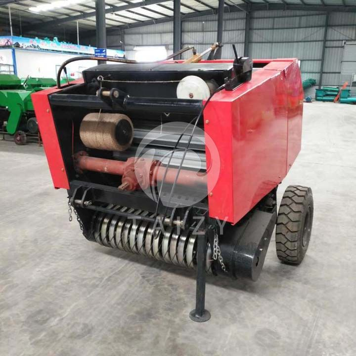 mini round baler machine